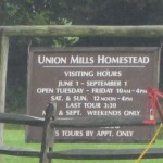 Tour to Union Mills Homestead