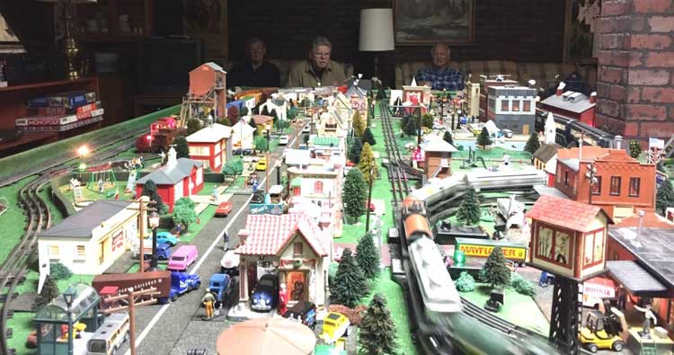 Breakfast at Bob Evans and Butch's Train Garden