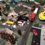 Arbutus Volunteer Fire Department Train Garden