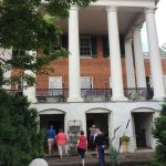 The back door of James Monroe House